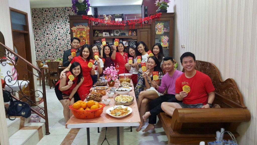 chinese new year dinner Customs